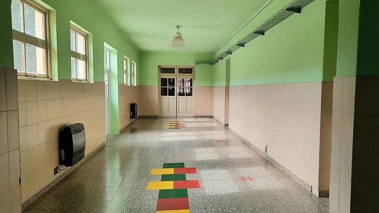 La Escuela Primaria 'Manuel Belgrano'.