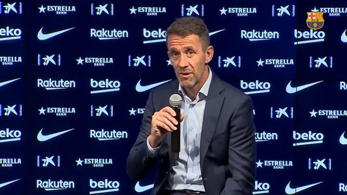 Planes, director deportivo del Barcelona FC.