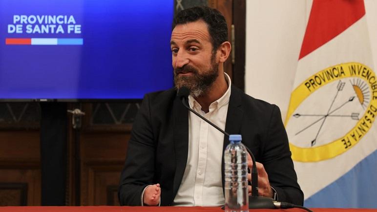El ministro de Trabajo de Santa Fe, Roberto Sukerman.