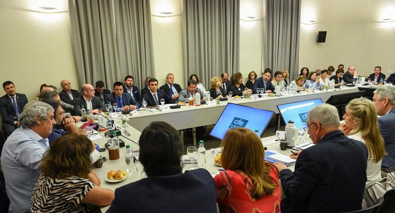 Sesión del Consejo Federal de Educación.