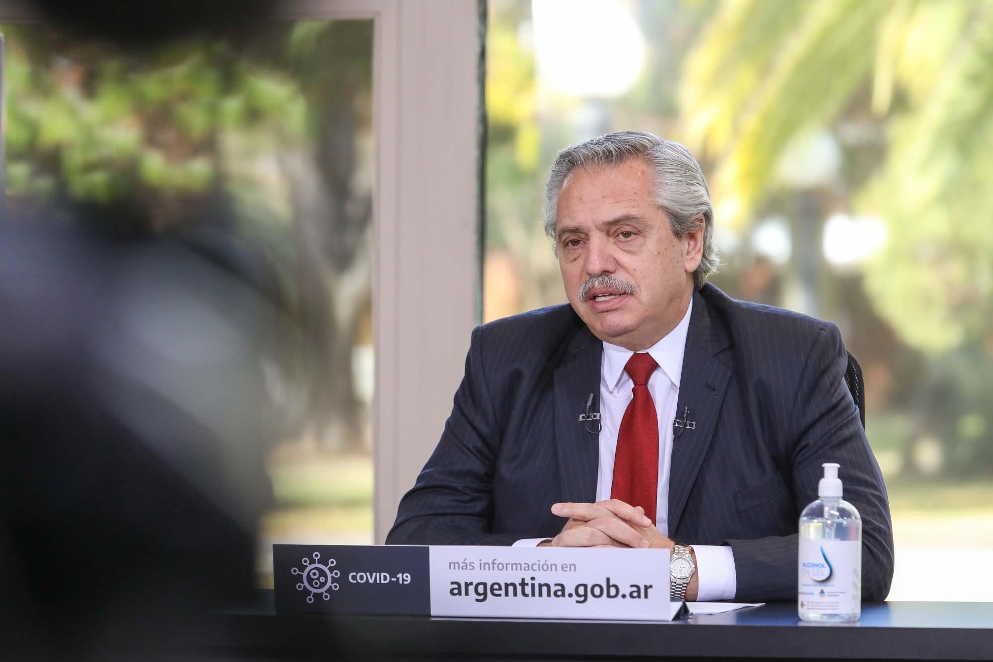 El mandatario anunció obras para Chaco, Misiones, Córdoba, La Pampa y Salta por 20 mil millones de pesos. (Télam)
