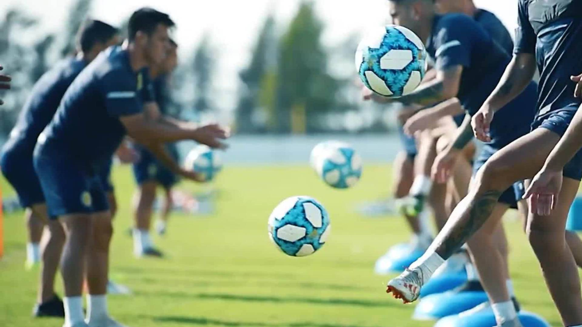 Después de los hisopados, el regreso a las prácticas en el fútbol profesional.