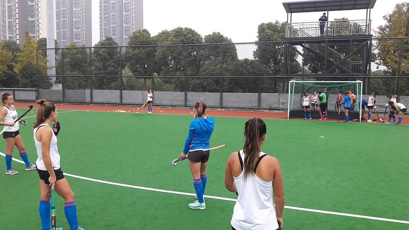 Las Leonas ya entrenan con el objetivo de los JJ.OO. de Tokio.