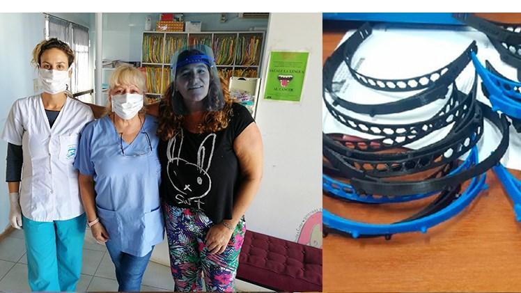 Pandemia solidaria: donaron más de 2500 máscaras faciales