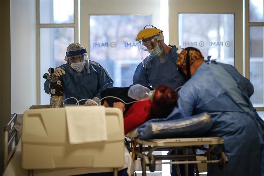 Van 5814 víctimas fatales por la pandemia.