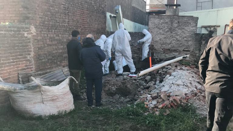El cuerpo fue encontrado este jueves (Foto: Grupo La Verdad)