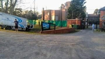 El choque ocurrió en el ingreso al barrio cerrado Cielo.