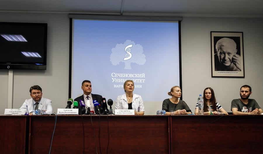 Anuncio del gobierno ruso (EFE)