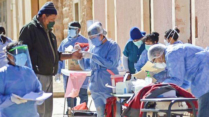 En Jujuy aumentaron los casos diario a un promedio de 150 por jornada.