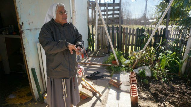 La religiosa fundó la Misión Franciscana María Madre de la Esperanza en barrio Empalme.