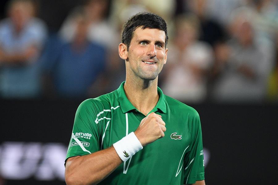 El primero en dejar en claro su posición en el chat fue Novak Djokovic.