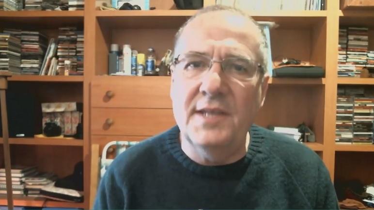 Armando Yualé, delegado de Amsafé Caseros.