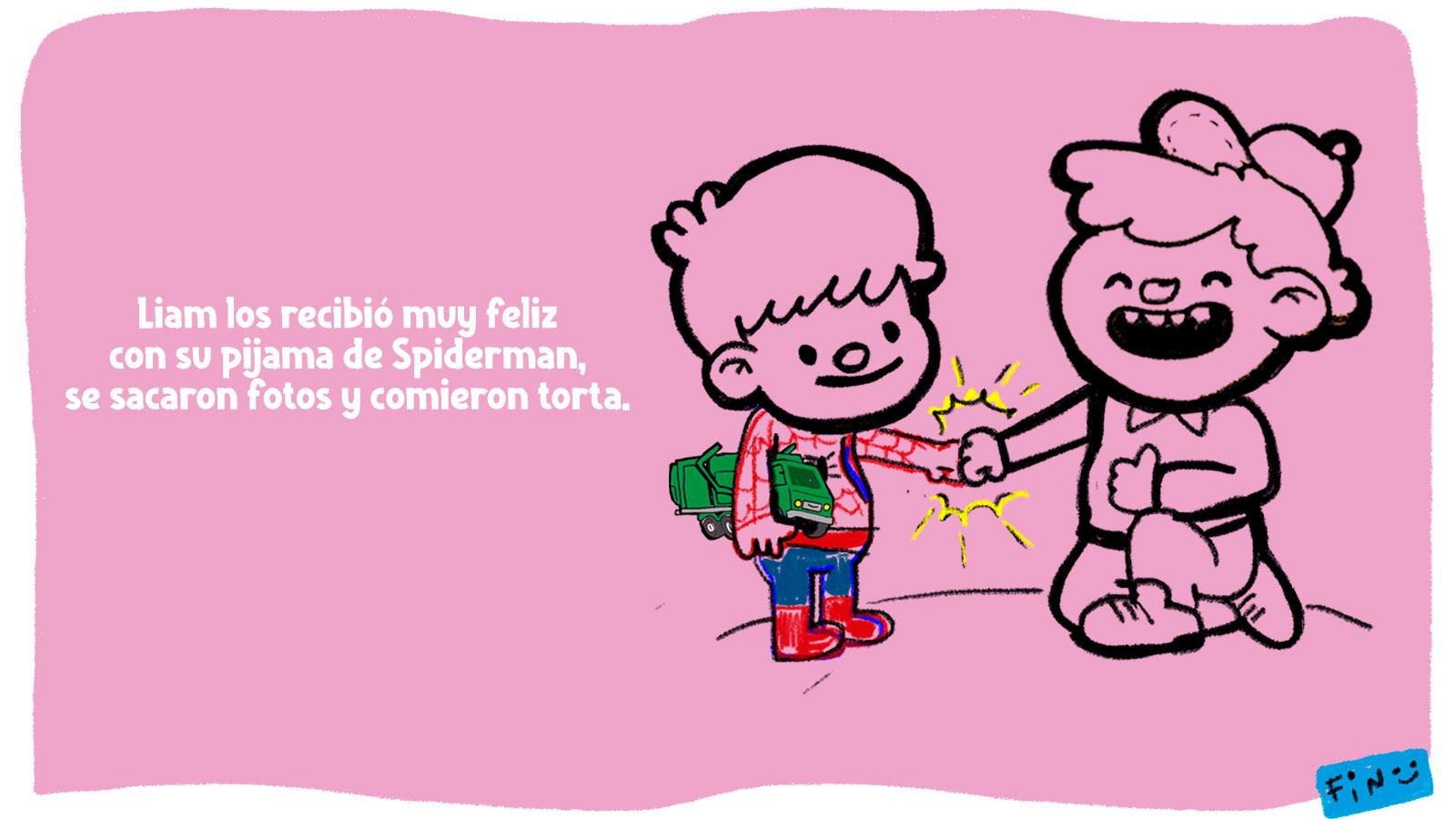 """#UnaBuena de hoy: """"Un cumple con amigos"""""""