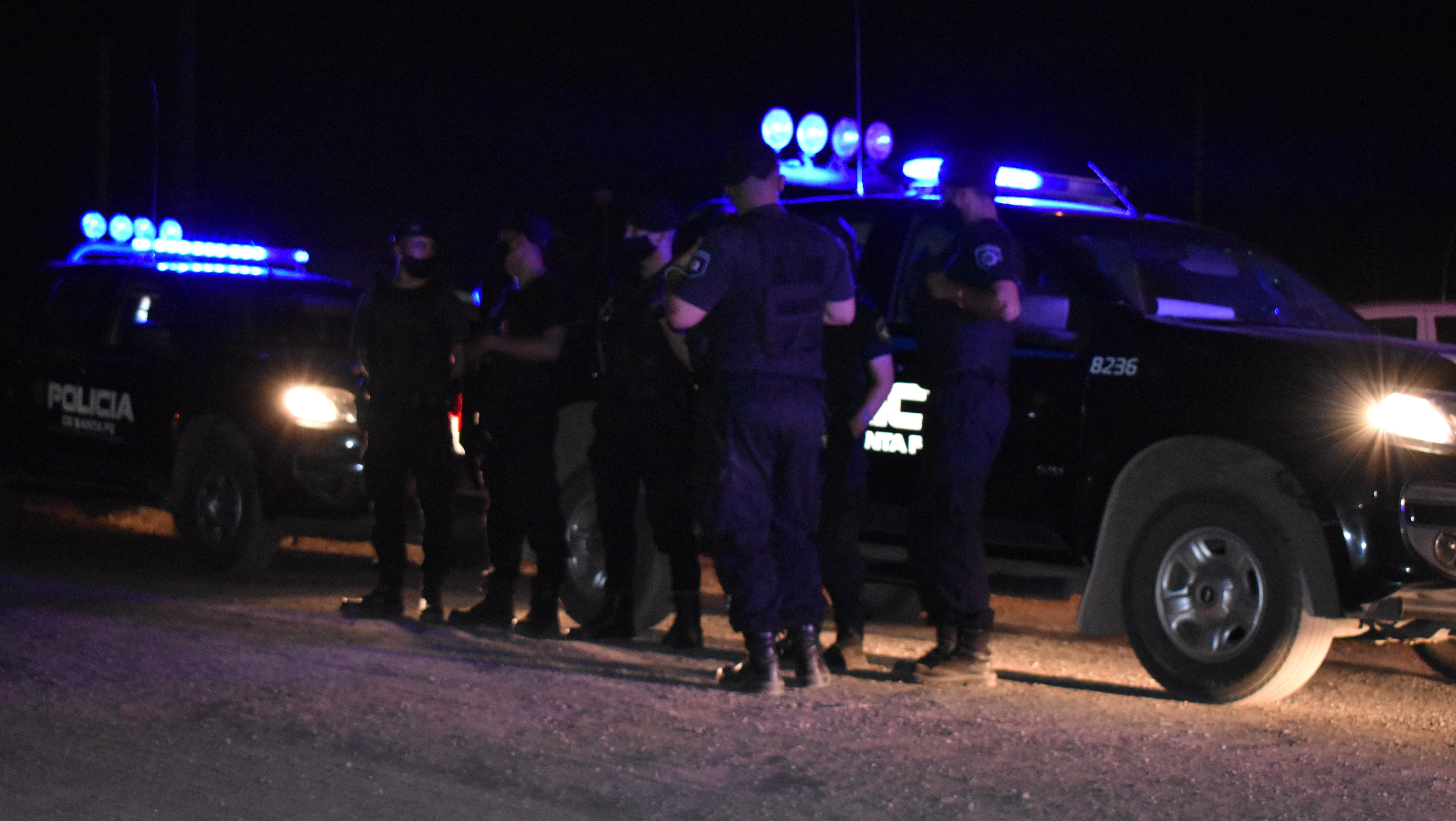 Imágenes de la llegada de la PAT el miércoles por la noche.