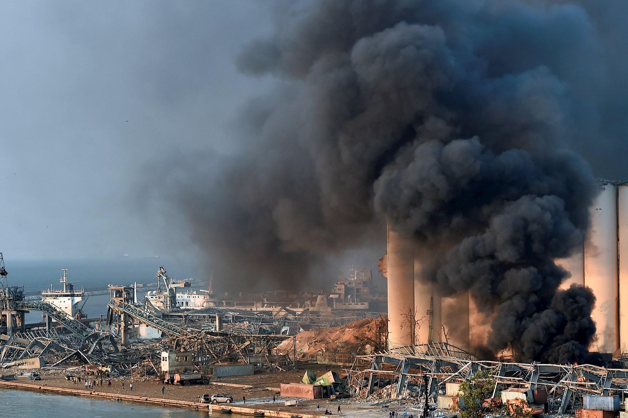 Explosivos letales en el puerto (EFE)