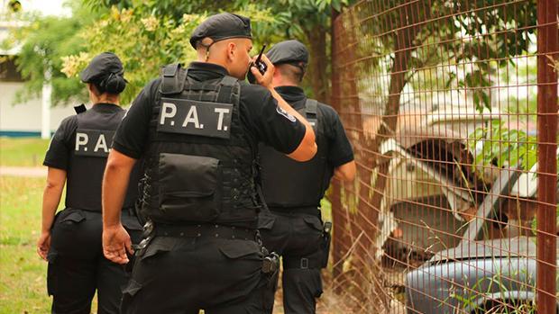 Arriban a la ciudad más de veinte efectivos policiales exclusivamente para Nueva Roma.