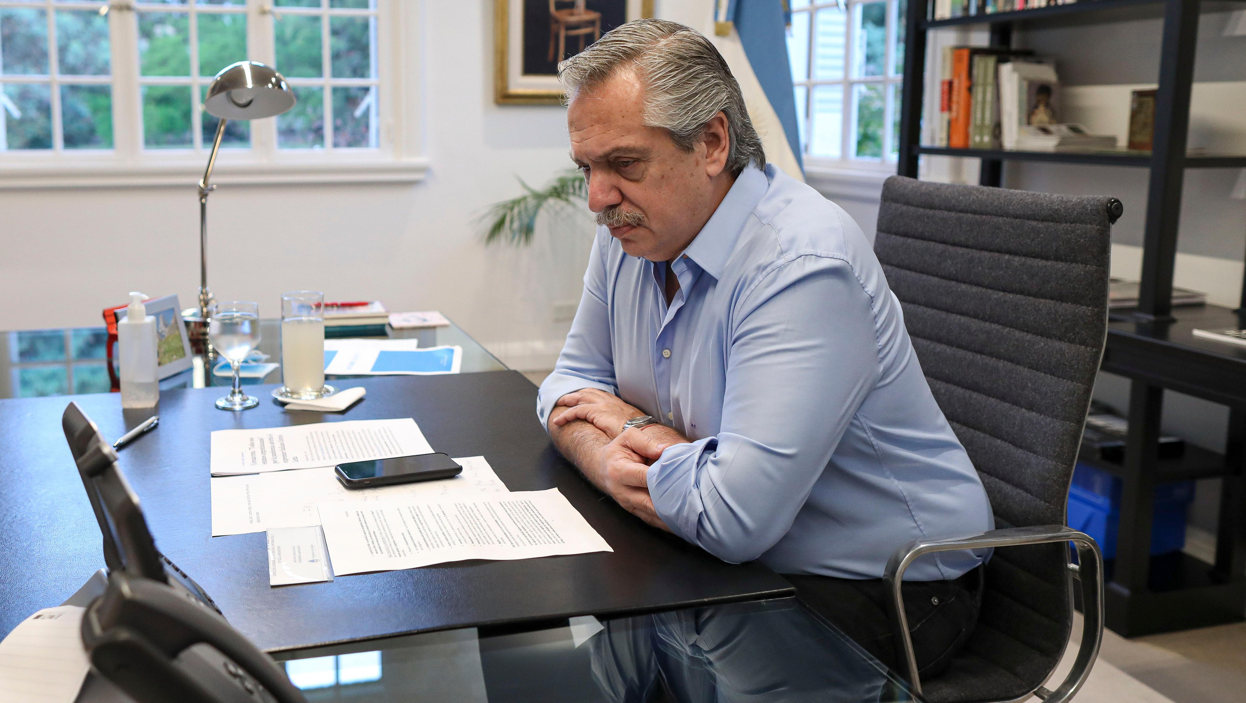 Fernández resaltó el papel del ministro de Economía