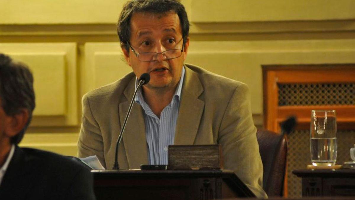 Diputado Carlos Del Frade.