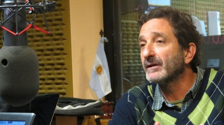 Andrés Golosetti, el intendente de la ciudad.