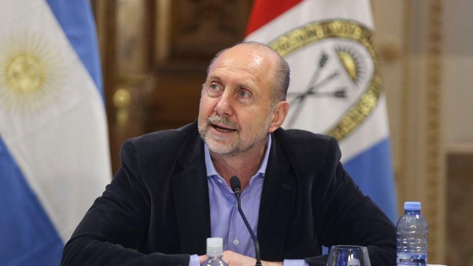El gobernador habló hasta de Traferri