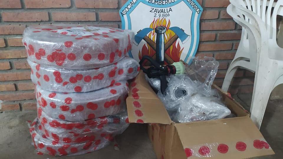 Bomberos de Zavalla: crecer en tiempos de pandemia
