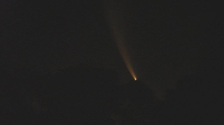 El Cometa MC Naugth en 2007. El último que se vio en la ciudad.