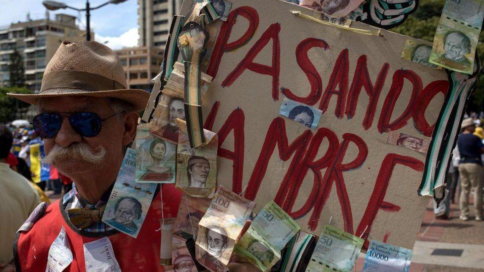 Venezuela es uno de los peores pronósticos, ya que viene de hambrunas en 2019.