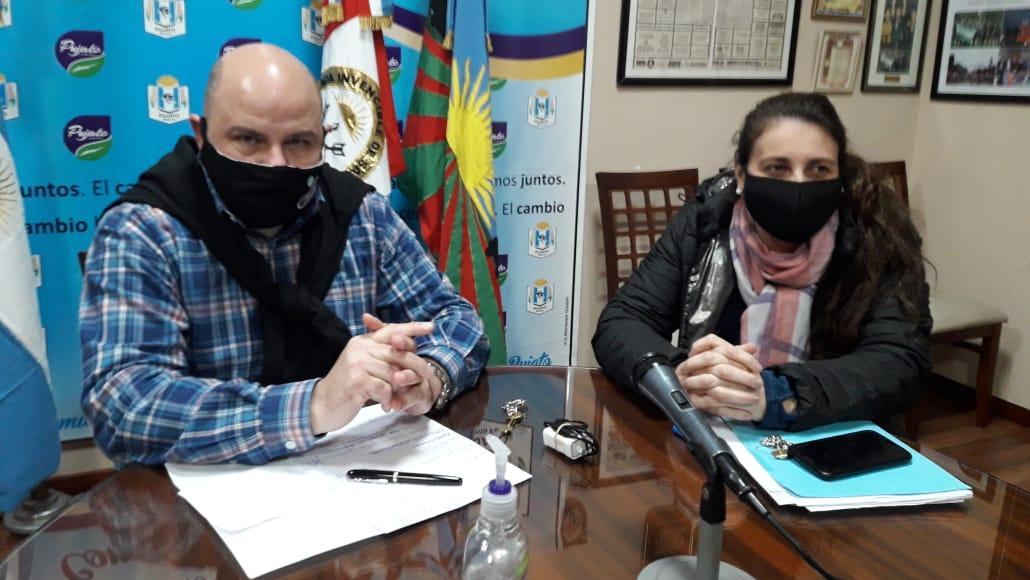 Daniel Quacquarini y Gladys Carbonetti.