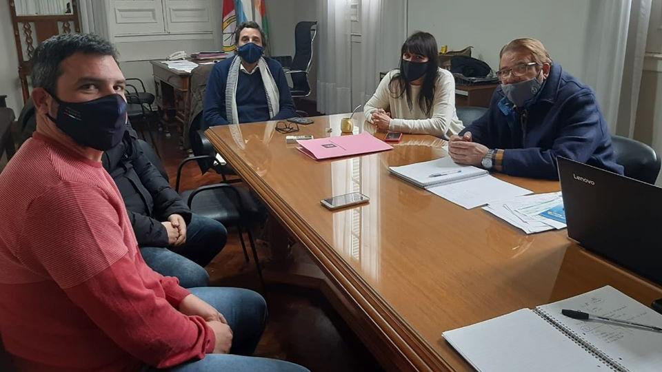 De izquierda a derecha: Almada, Golosetti, Bonavera, Rosconi.