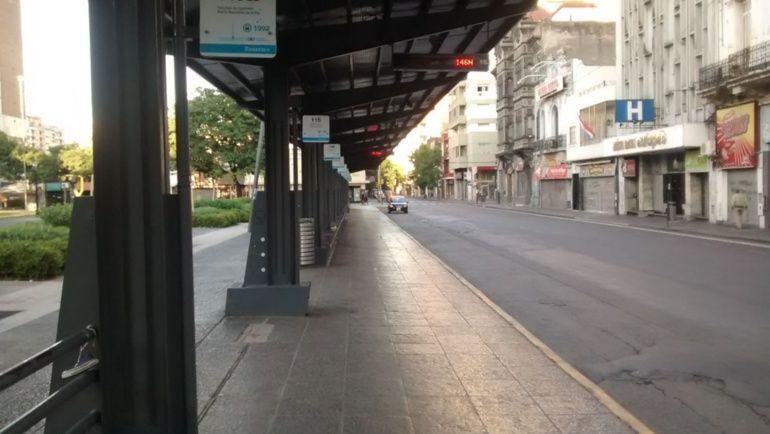 Rosario y parte del país, sin colectivos.