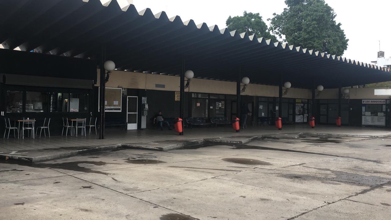 La terminal vacía.