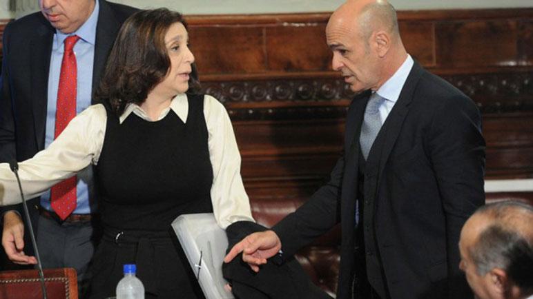 Silvia Majdalani y Gustavo Arribas, ex AFI.