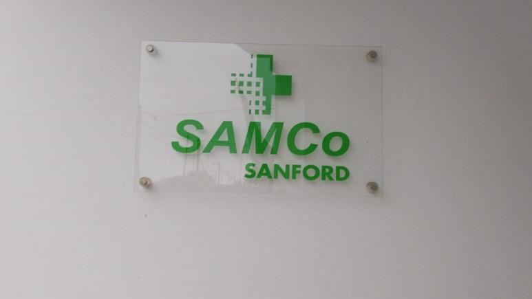 Una de las dos computadoras fue para la localidad de Sanford.