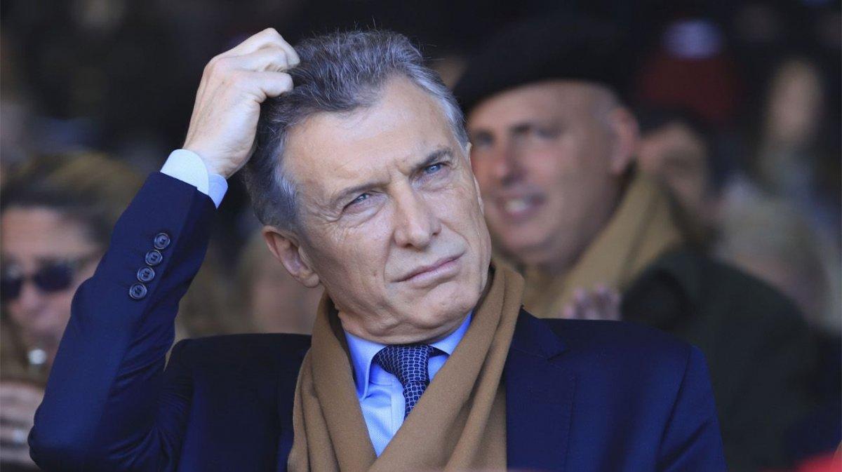 Mauricio Macri en el ojo de la tomenta.