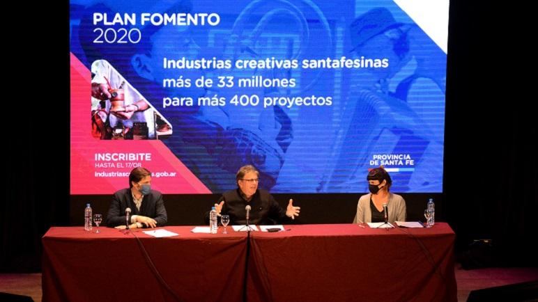 La presentación del Plan Fomento 2020.