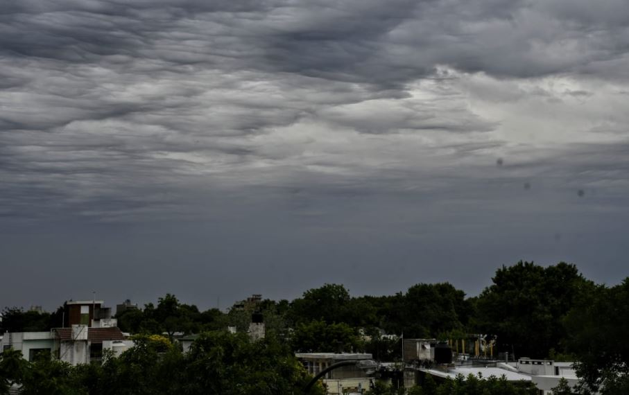 Las nubes llegan con agua