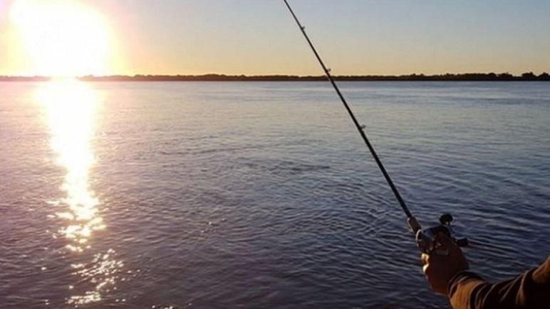 La pesca de orilla es sólo en clubes habilitados.