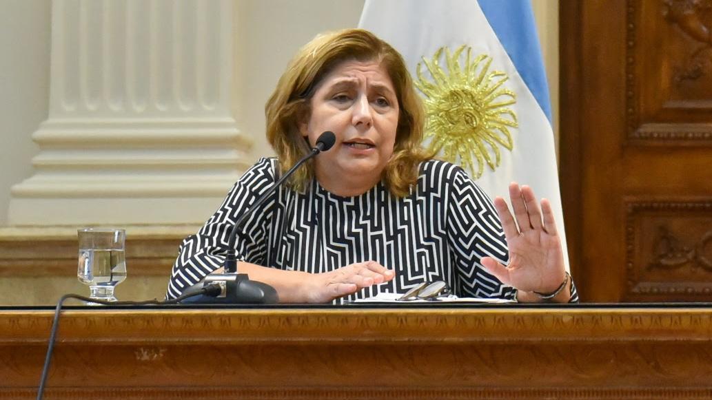 La secretaria de salud provincial Sonia Martorano.