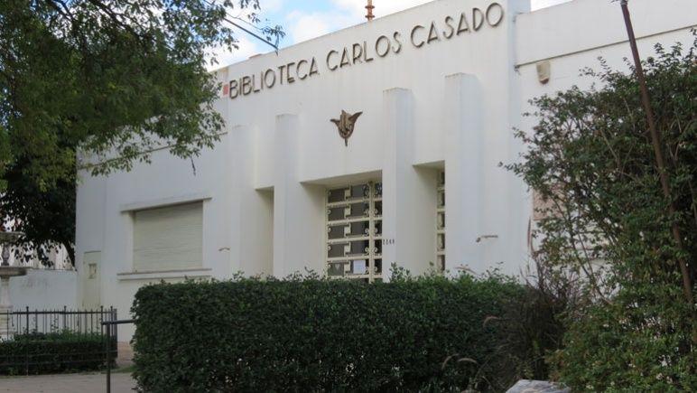 La biblioteca Casado festeja sus 110 años de historia.
