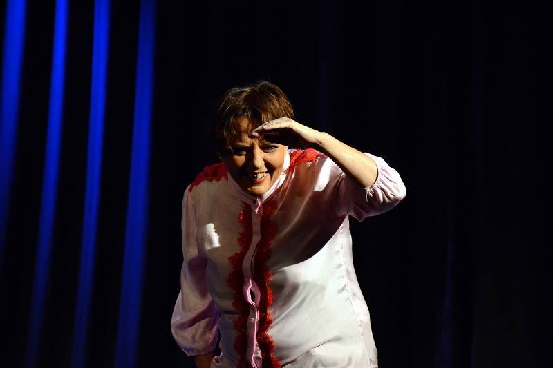 La directora Alejandra Gómez, también protagoniza la obra junto a Jua Jua Juárez yAdriana Jaworsky.