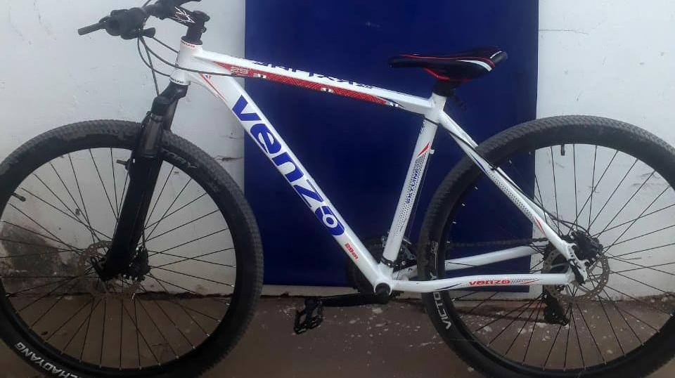 Recuperaron una bicicleta robada que se vendía por Internet.
