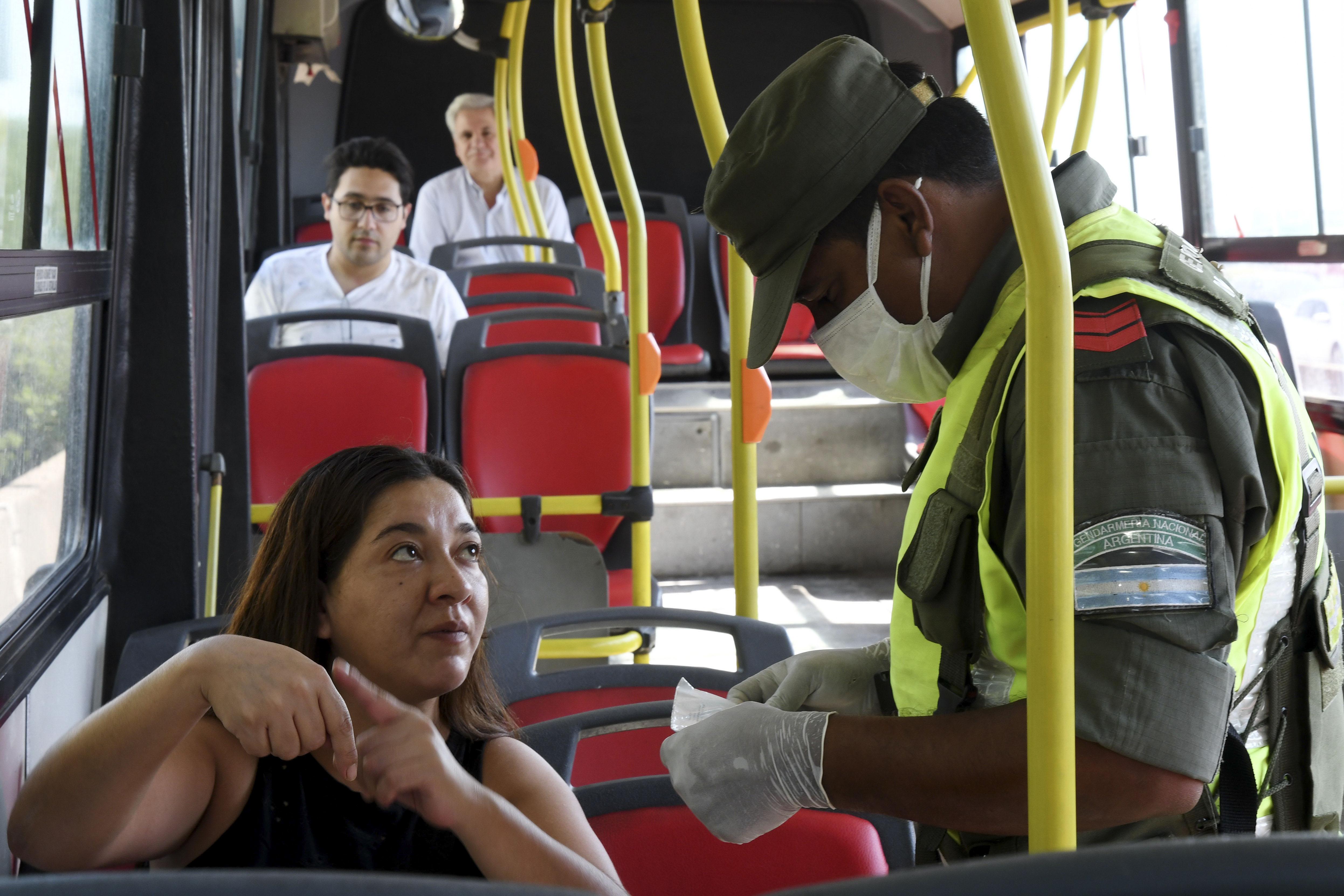 El transporte público es un foco de contagio problemático (Télam)