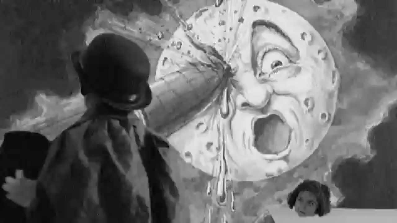 El precursor del cine e ilusionista Georges Meliés, en una icónica escena.