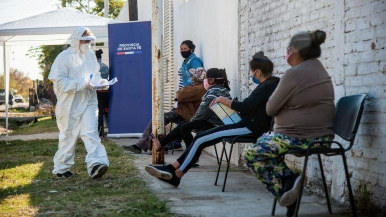 Por ahora, los testeos en barrios vulnerables no detectaron ningún infectado.