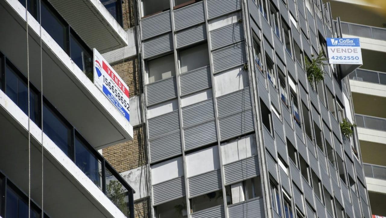 El relevamiento contabiliza 32.000 departamentos a la venta en Rosario.
