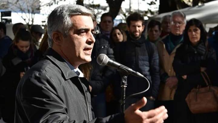 Franco Bartolacci, rector de la UNR, visitó la ciudad.