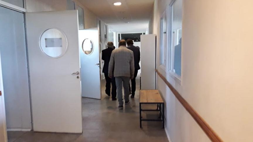 Autoridades locales y de la UNR recorrieron el hospital escuela.