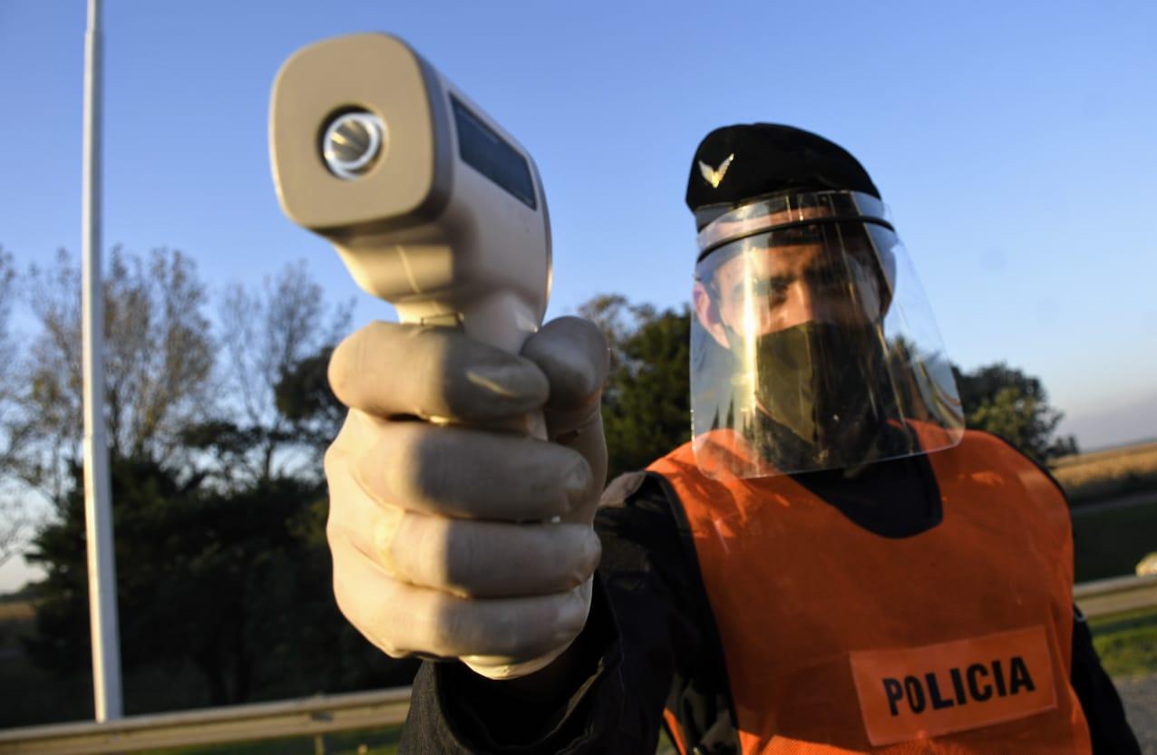 Refuerzan los controles para evitar el ingreso de personas contagiadas