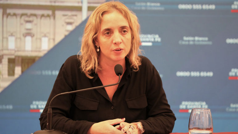 Carolina Cudós, directora de epidemiología.