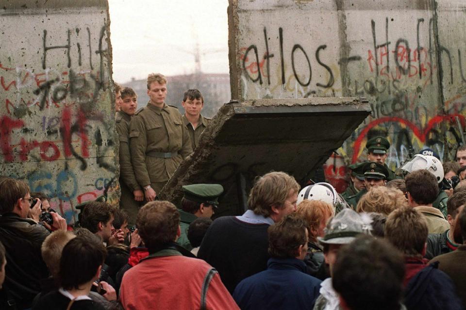 La caída del Muro de Berlín y un mito detrás